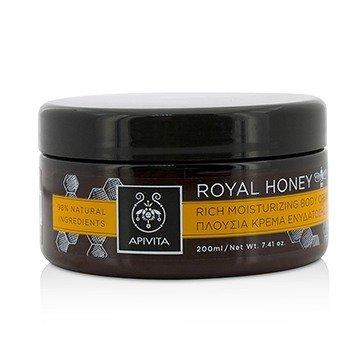 Apivita Royal Honey Насыщенный Увлажняющий Крем для Тела 200ml/7.41oz