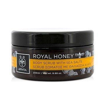 Apivita Royal Honey Скраб для Тела с Морской Солью 200ml/8.68oz