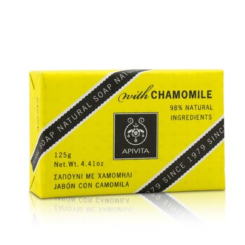Natural Soap With Chamomile (125g/4.41oz)