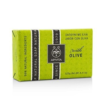 Natural Soap With Olive (125g/4.41oz)