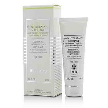 Mattifying Moisturizing Skin Care with Tropical Resins - For Combination & Oily Skin (Oil Free) (50ml/1.6oz)