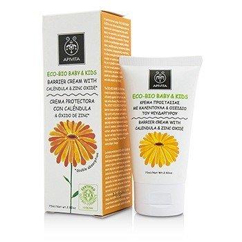 Eco-Bio Baby & Kids Barrier Cream With Calendula & Zinc Oxide (75ml/2.82oz)