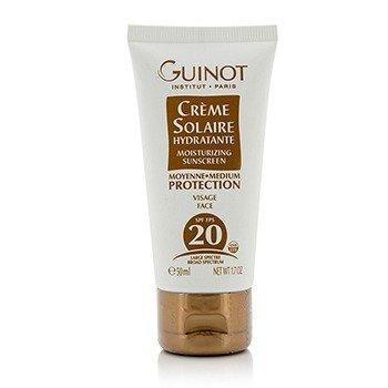 Guinot Creme Solaire Hydratante Увлажняющее Солнцезащитное Средство для Лица SPF20 50ml/1.7oz