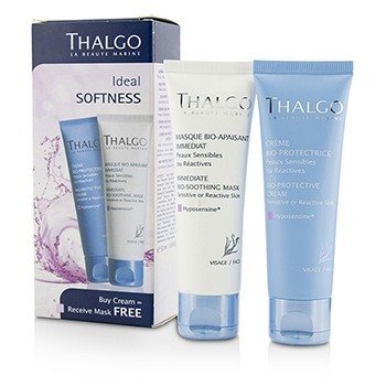 Ideal Softness Kit: Bio-Protective Cream 50ml + Immediate Bio-Soothing Mask 50ml (2pcs)