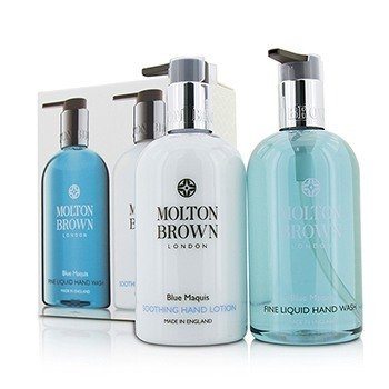 Molton Brown Blue Maquis Набор для Рук: Жидкое Мыло для Рук 300мл/10унц + Успокаивающий Лосьон для Рук 300мл/10унц 2pcs