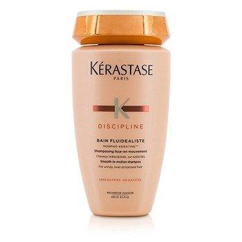 Kerastase Discipline Bain Fluidealiste Smooth-In-Motion Шампунь без Сульфатов - для Непослушных, Поврежденных Волос (Новая Упаковка) 250ml/8.5oz