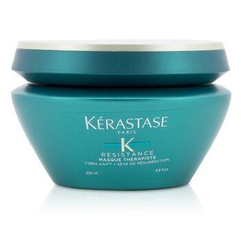 Kerastase Resistance Masque Therapiste Fiber Quality Обновляющая Маска - для Сильно Поврежденных, Густых Волос (Новая Упаковка) 200ml/6.8oz