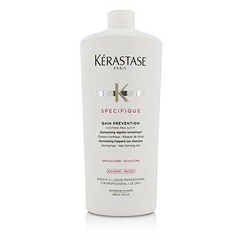 Kerastase Specifique Bain Prevention Нормализующий Шампунь для Частого Применения (для Нормальных Волос - против Выпадения) 1000ml/34oz