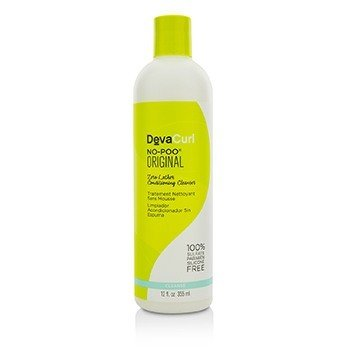 No-Poo Original (Zero Lather Conditioning Cleanser - For Curly Hair) (355ml/12oz)