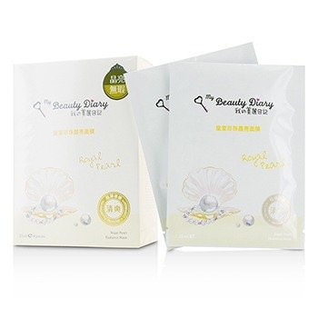 My Beauty Diary Маска - Royal Pearl Radiance (Осветляющая) 8pcs