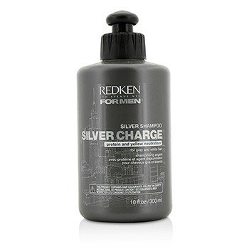Redken Men Silver Charge Серебристый Шампунь (для Седых и Белых Волос) 300ml/10oz