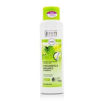 Lavera Organic Lemon Balm  Organic Mint Освежающий и Балансирующий Шампунь (для Жирных Волос) 250ml/8.3oz