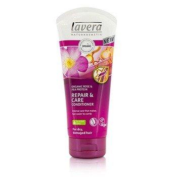 Lavera Organic Rose  Pea Protein Восстанавливающий Кондиционер (для Сухих, Поврежденных Волос) 200ml/6.6oz