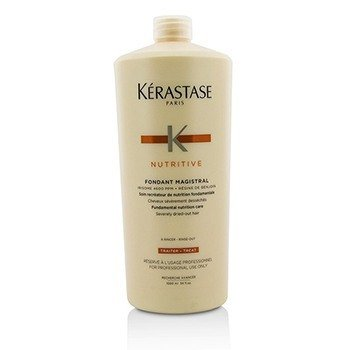 Nutritive Fondant Magistral Fundamental Nutrition Care (Severely Dried-Out Hair) (1000ml/34oz)