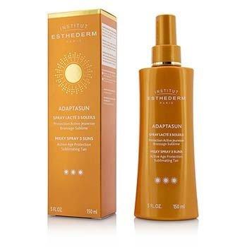 Esthederm Adaptasun Milky Spray 3 Suns Активное Защитное Средство для Загара - Сильная Защита - для Тела 150ml/5oz