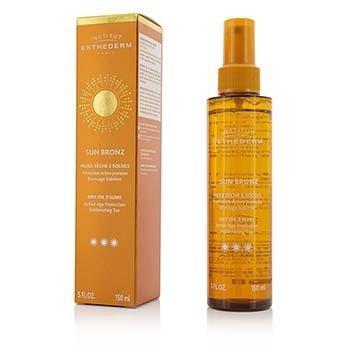 Esthederm Sun Bronz Dry Oil 3 Suns Активное Защитное Средство для Загара - Сильная Защита - для Тела и Волос 150ml/5oz