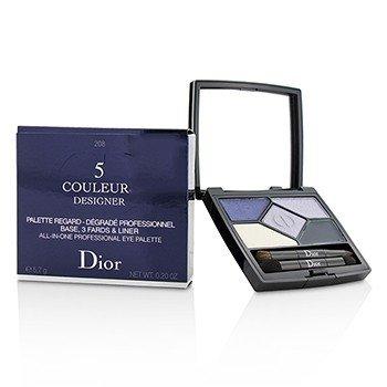 5 Color Designer All In One Professional Eye Palette - No. 208 Navy Design (5.7g/0.2oz)