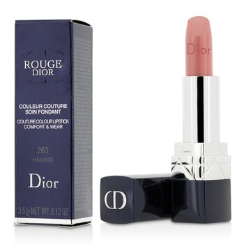 Rouge Dior Couture Colour Comfort & Wear Lipstick - # 263 Hasard (3.5g/0.12oz)