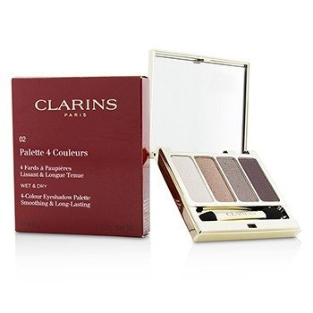 4 Colour Eyeshadow Palette (Smoothing & Long Lasting) - #02 Rosewood (6.9g/0.2oz)