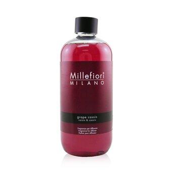 Millefiori 米蘭千花 自然香薰擴香座補充裝 - Grape Cassis 500ml/16.9oz - 香薰