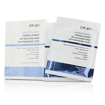DR.WU Hydrating System Extreme Увлажняющая Биоцеллюлозная Маска с Гиалуроновой Кислотой 3pcs