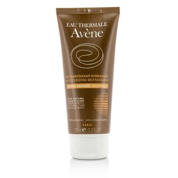 Moisturizing Self-Tanning Silky Gel For Face & Body - For Sensitive Skin (100ml/3.3oz)