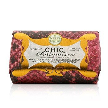 Chic Animalier Natural Soap - Wild Orchid, Red Tea Leaves & Tiare (250g/8.8oz)