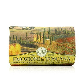 Emozioni In Toscana Natural Soap - The Golden Countryside (250g/8.8oz)