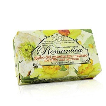 Romantica Luxurious Natural Soap - Royal Lily & Narcissus (250g/8.8oz)