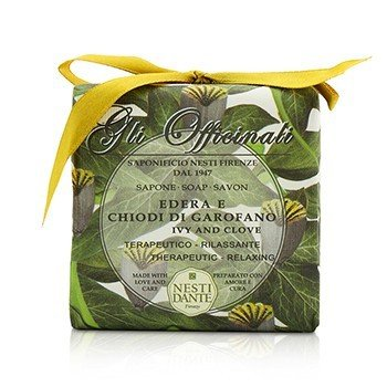 Gli Officinali Soap - Ivy & Clove - Therapeutic & Relaxing (200g/7oz)