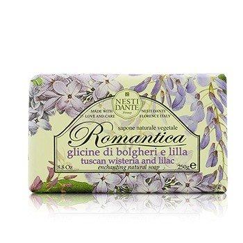Romantica Enchanting Natural Soap - Tuscan Wisteria & Lilac (250g/8.8oz)