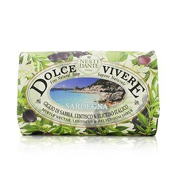 Dolce Vivere Fine Natural Soap - Sardegna - Myrtle Nectar, Lentiscus & Helycrisum Shrub (250g/8.8oz)