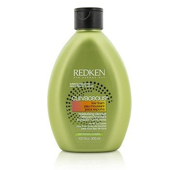 Redken Curvaceous Low Foam Увлажняющее Очищающее Средство (для Всех Типов Кудрявых Волос) 300ml/10.1oz
