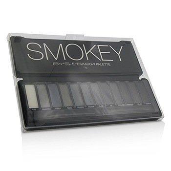Eyeshadow Palette (12x Eyeshadow, 2x Applicator) - Smokey (12g/0.42oz)
