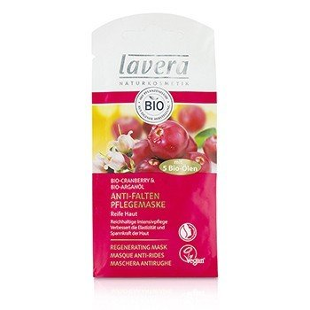 Lavera Organic Cranberry  Argan Oil Регенерирующая Маска 10ml/0.32oz