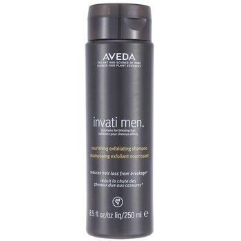 Aveda Invati Men Питательный Отшелушивающий Шампунь (для Редеющих Волос) 250ml/8.5oz