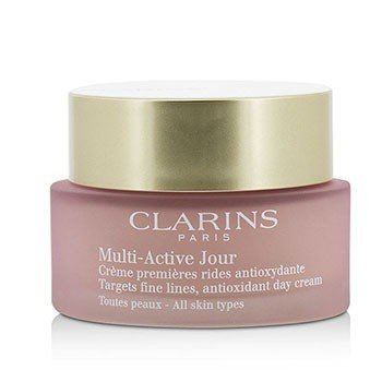 Multi-Active Day Targets Fine Lines Antioxidant Day Cream - For All Skin Types (Unboxed) (50ml/1.6oz)