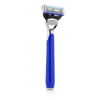 The Art Of Shaving 刮鬍學問 Morris Park Collection Razor - Royal Blue 1pc - 刮鬍用品