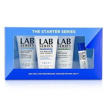 Aramis Lab Series Базовый Набор: Средство для Умывания 30мл + Лосьон для Лица 30мл + Средство после Бритья 30мл + Бальзам для Губ 4.3г 4pcs