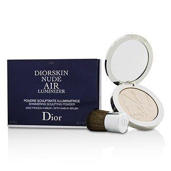 Christian Dior Diorskin Nude Air Luminizer Мерцающая Моделирующая Пудра (с Кисточкой Кабуки) - #002 6g/0.21oz