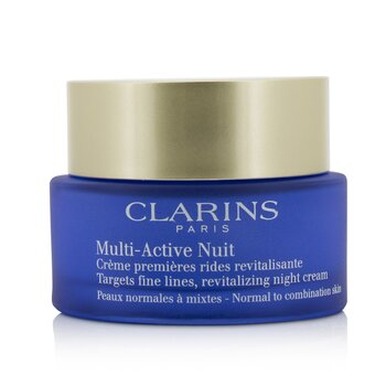 Multi-Active Night Targets Fine Lines Revitalizing Night Cream - For Normal To Combination Skin (50ml/1.6oz)