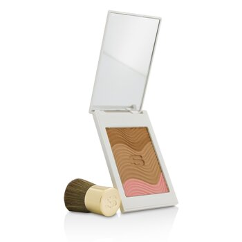 Phyto Touche Sun Glow Powder With Brush - # Trio Miel Cannelle (11g/0.38oz)