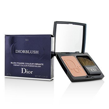 Christian Dior DiorBlush Яркие Пудровые Румяна - # 563 Shocking Coral 7g/0.24oz