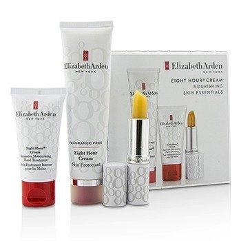 Elizabeth Arden Eight Hour Cream Набор Питательных Средств: Защитный Крем без Отдушек + Крем для Рук + Защитный Стик для Губ SPF 15 3pcs