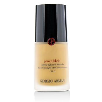 Giorgio Armani 亞曼尼 完美絲絨水慕斯粉底 SPF 25 - # 6 (Medium, Warm) 30ml/1oz - 粉底及蜜粉