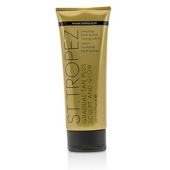 Gradual Tan Plus Sculpt And Glow Everyday Multi-Active Toning Lotion 01474 (200ml/6.7oz)