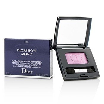 Christian Dior Diorshow Mono Professional Spectacular Effects  Long Wear Тени для Век - # 848 Focus 2g/0.07oz