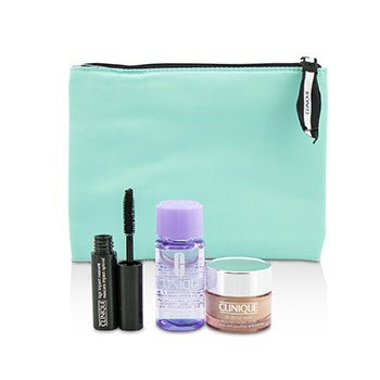 Travel Set: All About Eye 15ml + Mascara 3.5ml + Eye Makeup Remover 30ml+1Bag (3pcs+1bag)