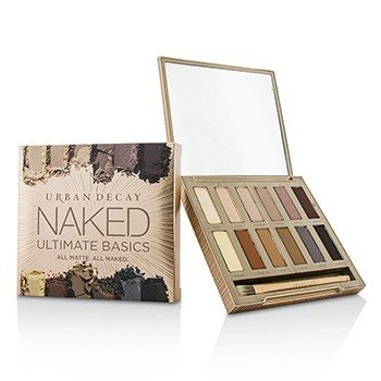 Urban Decay Naked Ultimate Basics Набор Теней для Век: 12x Тени для Век, 1x Двусторонняя Кисть для Нанесения и Растушевки -
