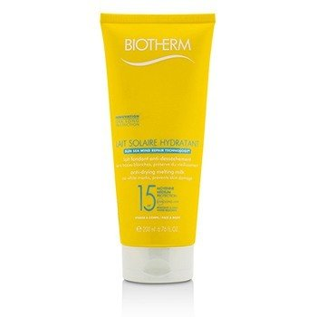 Lait Solaire Hydratant Anti-Drying Melting Milk SPF 15 - For Face & Body (200ml/6.76ml)